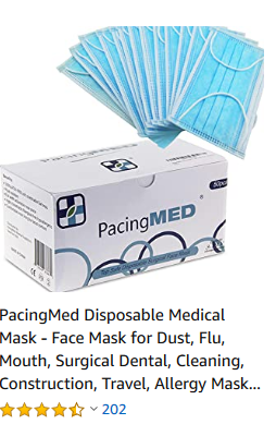 Disposable Medical/Surgical Facemaks