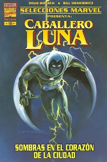 Portada de selecciones Marvel Forum Caballero Luna