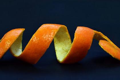 Manfaat Kulit Jeruk Yang Belum Pernah Anda Bayangkan