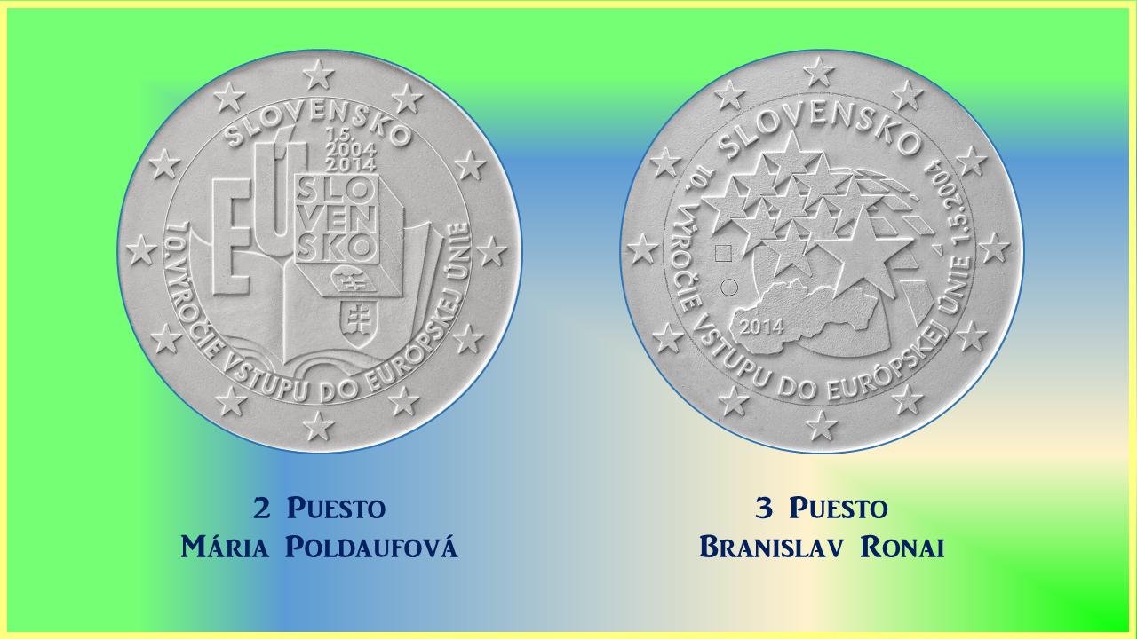 Finalistas 2 Euros Eslovaquia 2014