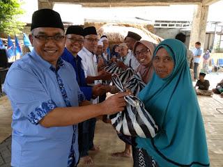 <b>Jelang Idul Fitri, DPD Partai Demokrat NTB Gelar Kegiatan Demokrat Peduli dan Berbagi</b>
