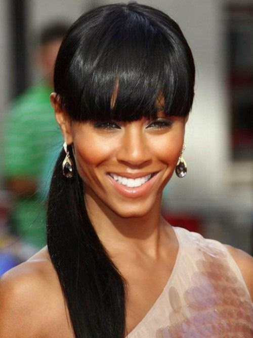 Marvelous Black Women Hairstyles Latest Black Hairstyles Ponytail 2015 Trends Hairstyles For Women Draintrainus