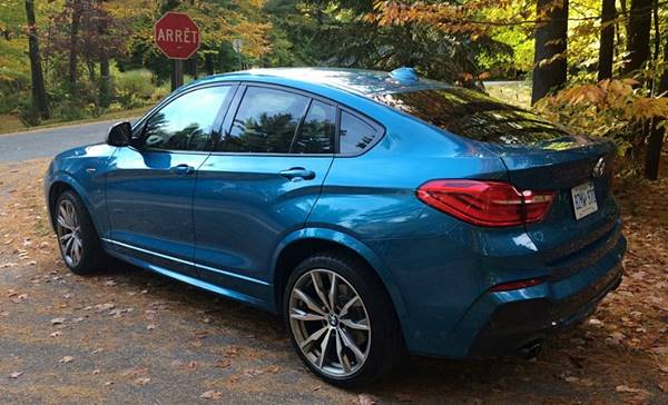 2019 BMW X4 M40i AWD 4dr SUV Review