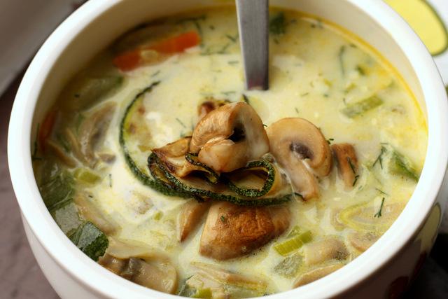 Čorba od povrća i šampinjona
