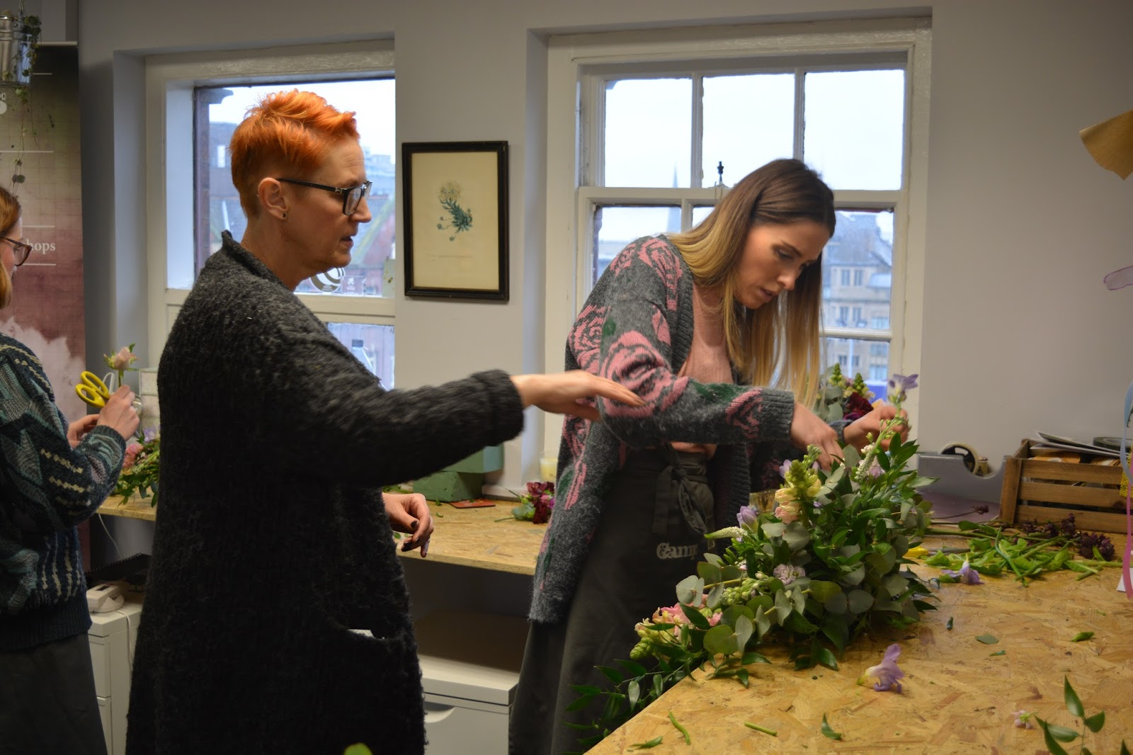Campbells Flowers Career Change Workshops Our New Campbells