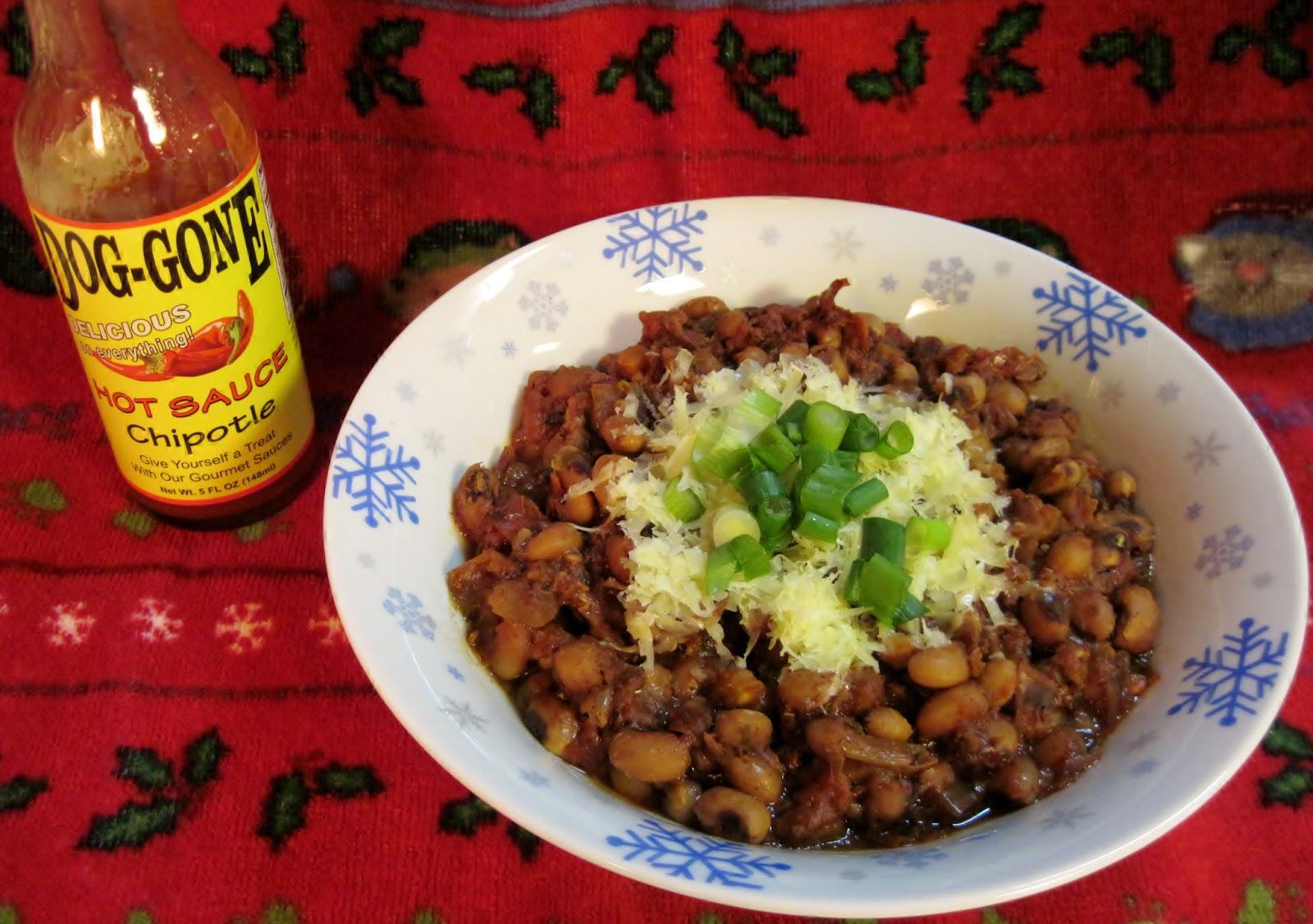 Carolina Sauce Company Smoky Spicy Black Eyed Pea Chili