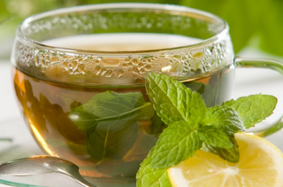 Resep membuat minuman minty lemon tea