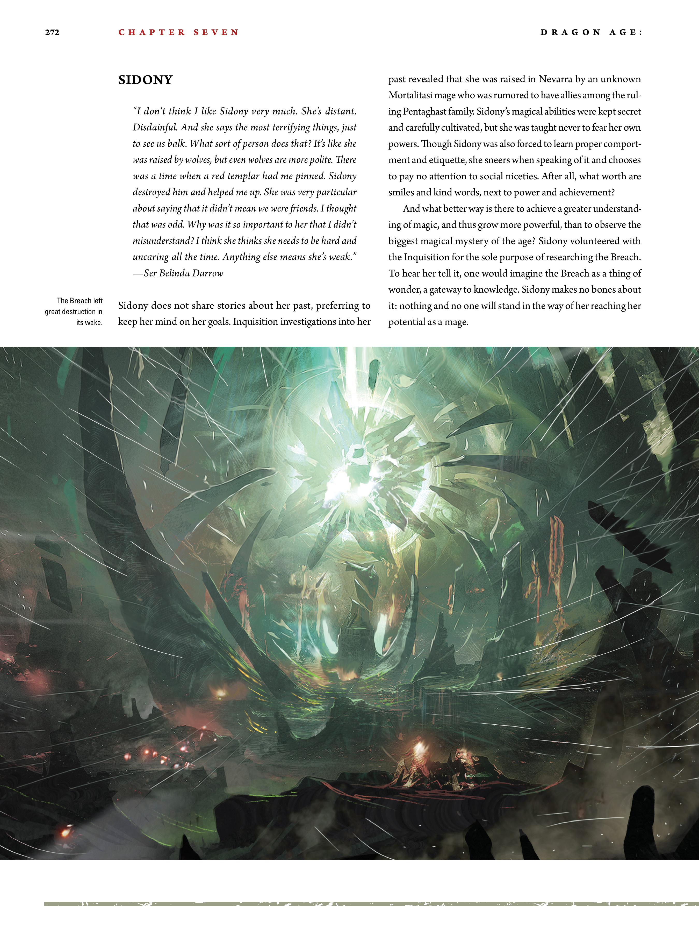 Read online Dragon Age: The World of Thedas comic -  Issue # TPB 2 - 264