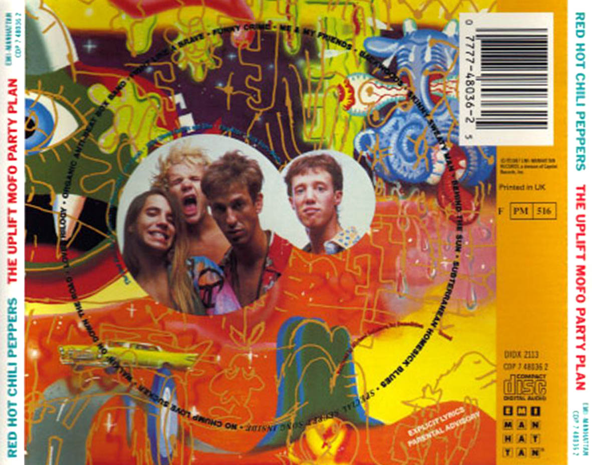 red hot chili peppers discografia flac