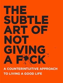 غلاف كتاب فن اللامبالاة النسخة الإنجليزية