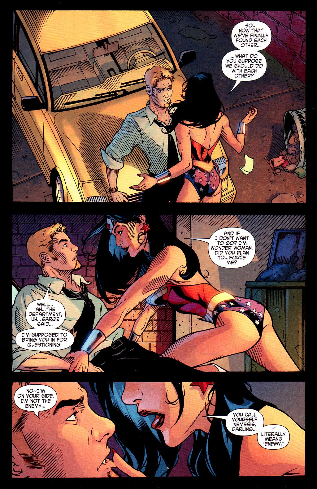 Read online Wonder Woman (2006) comic -  Issue #6 - 16