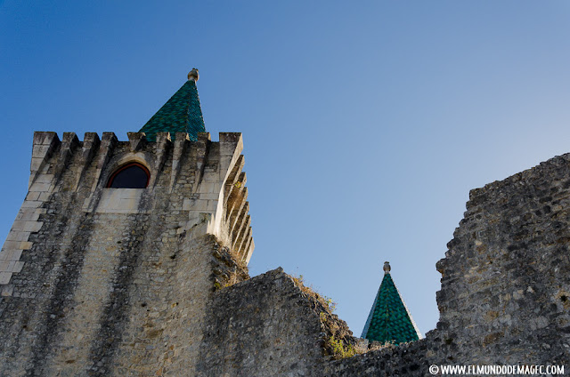 Castillos-de-Portugal, sus llamativos tejados verdes