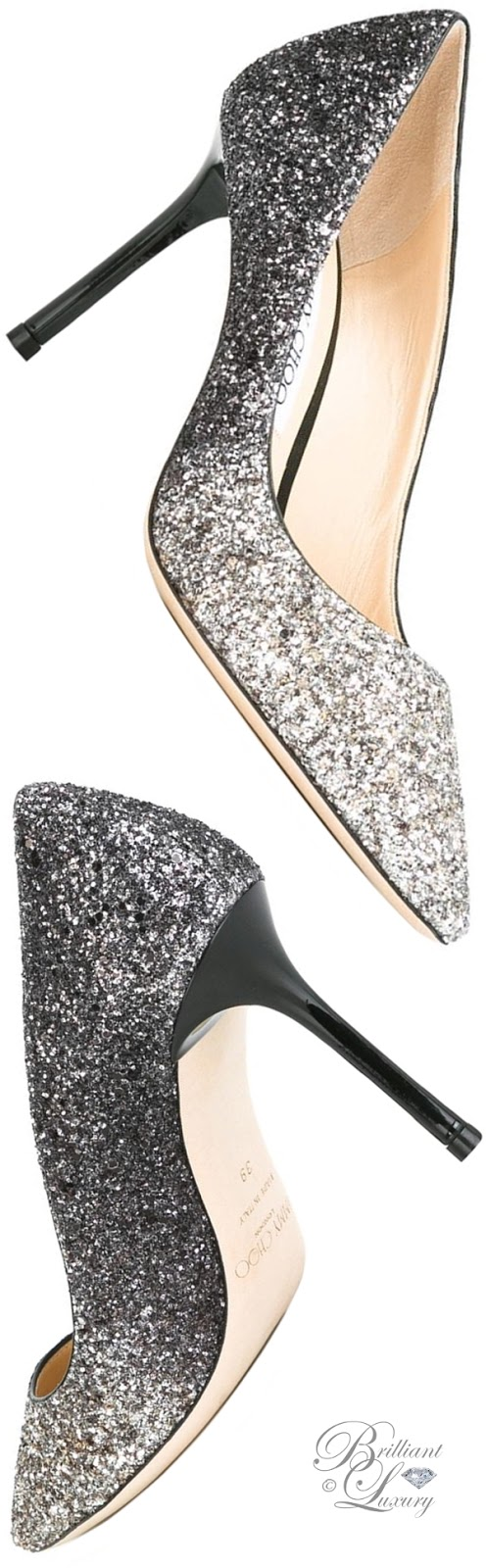 Brilliant Luxury ♦ Jimmy Choo Romy 85 Pumps