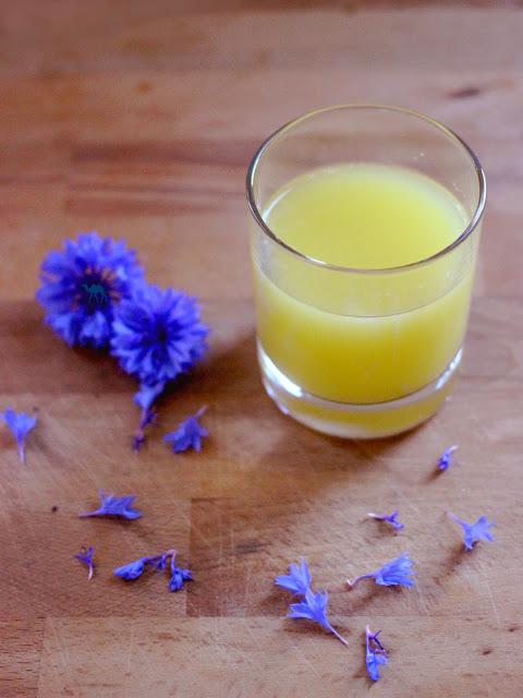 Recette du Jus de gingembre frais  - Le Chameau Bleu