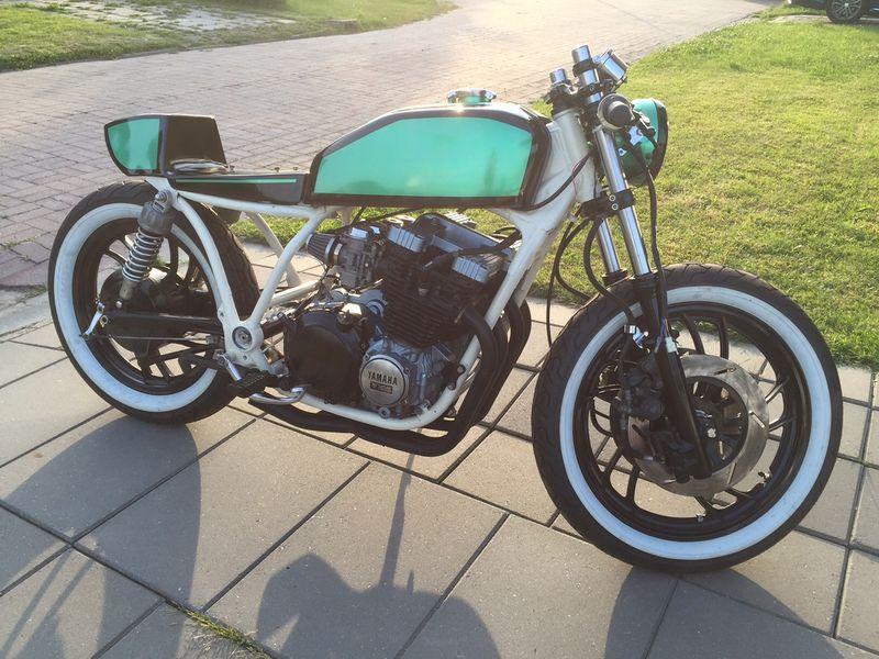 Yamaha XJ750 Seca caferacer | Niks origineel