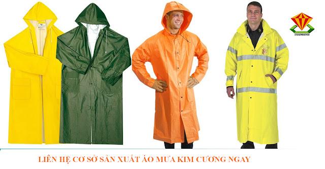 Nhận may áo mưa cánh dơi, áo mưa trùm đầu giá rẻ