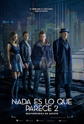 Now You See Me 2 (BRRip 1080p Dual Latino / Ingles) (2016)