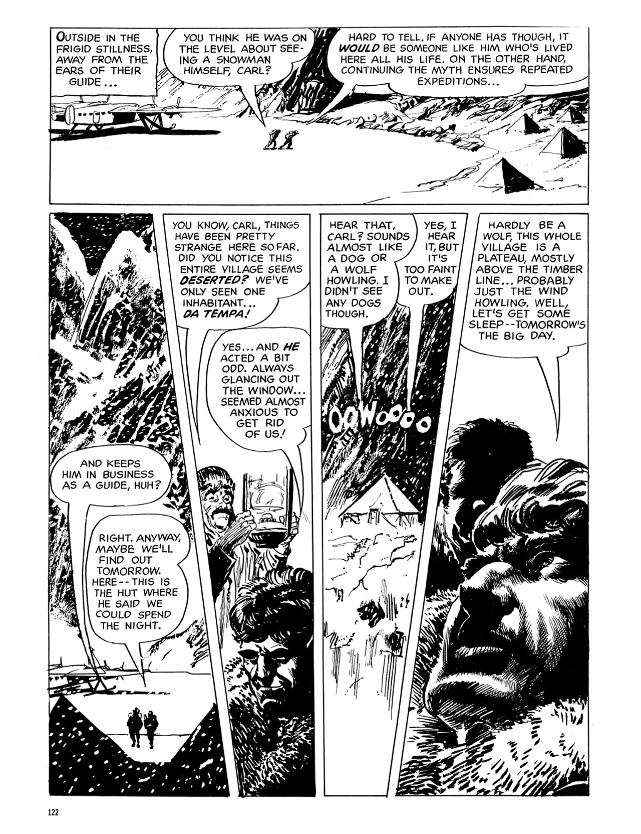 Read online Eerie Archives comic -  Issue # TPB 6 - 122