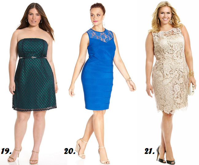 Shapely chic sheri plus size fashion and style blog for for Semi formal dress for wedding guest