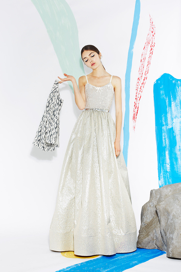 Colorful wedding dresses by Alice + Olivia – Burritos and Bubbly