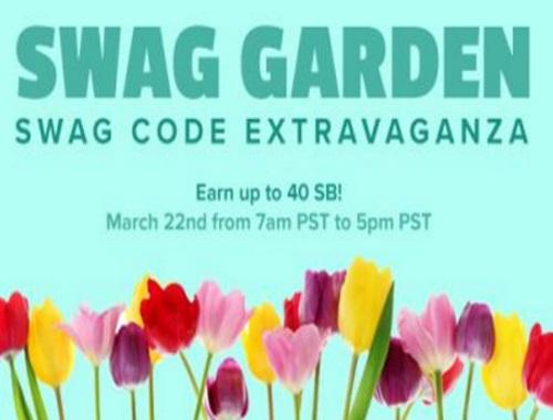 Swagbucks Swag Garden Swag Code Extravaganza