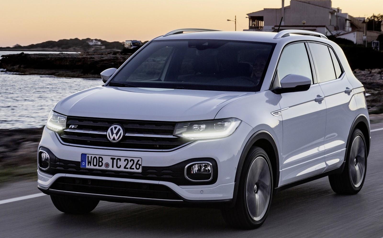 Volkswagen T-Cross é líder no ranking de carros mais vendidos - Eslovênia