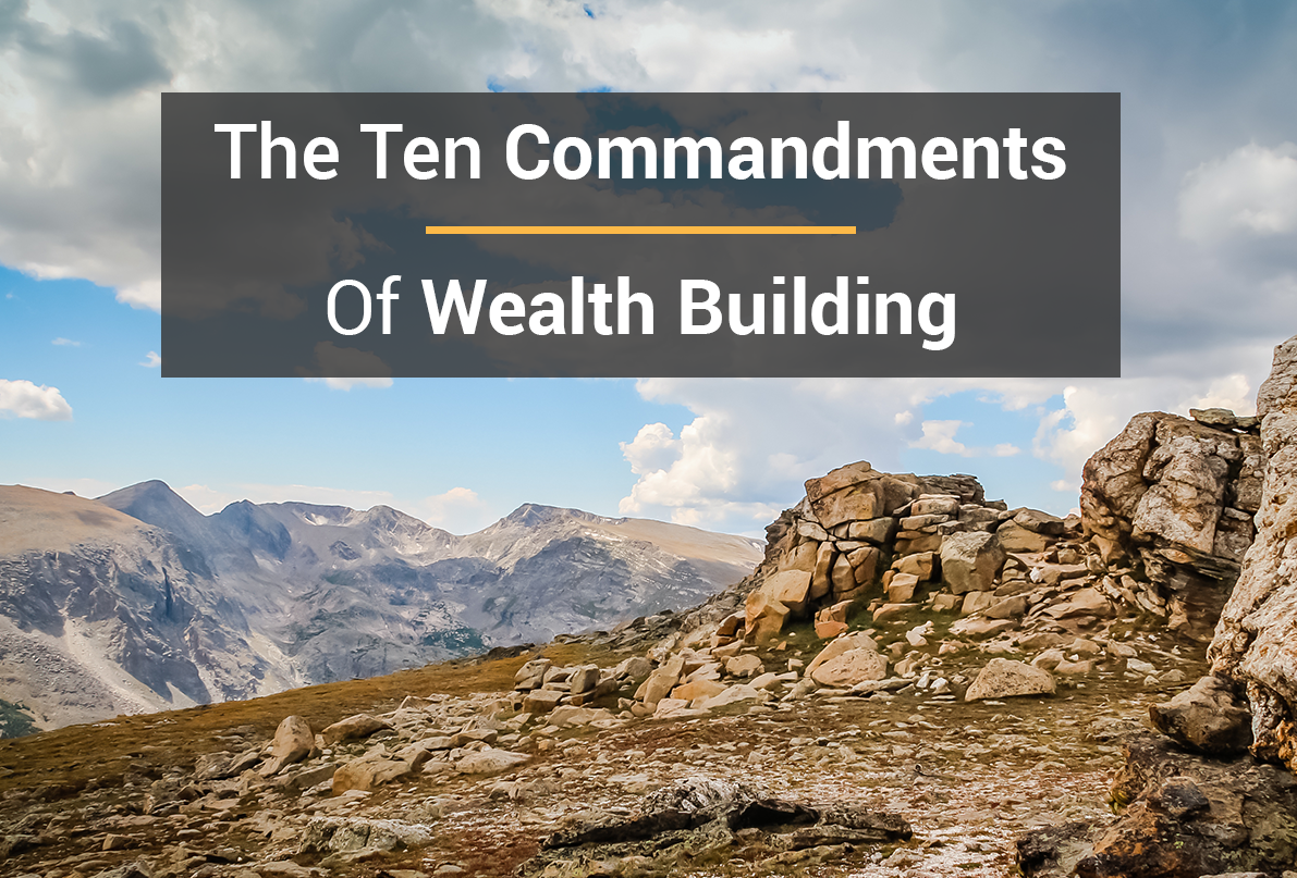 Commandments For Getting Rich From Nothing
