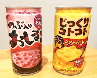 súp bắp và súp đậu đỏ