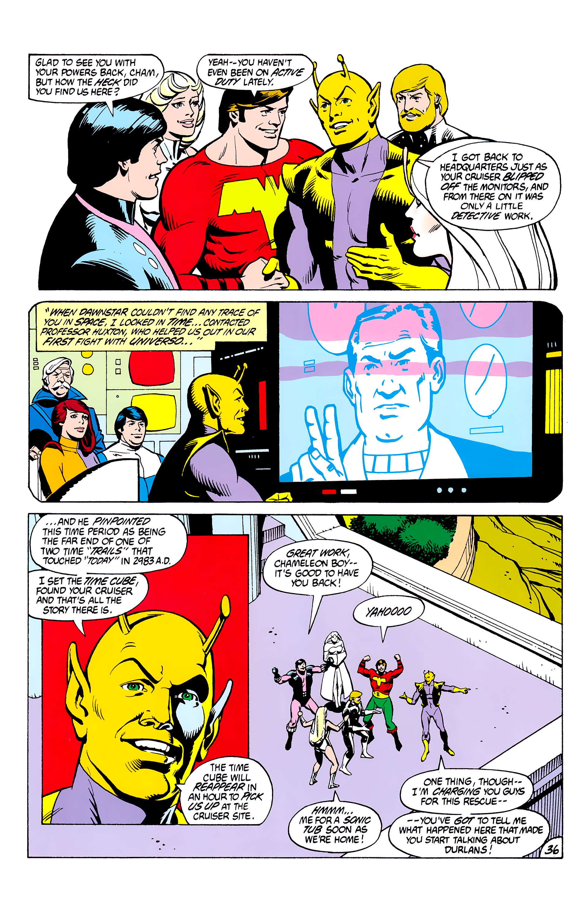 Legion of Super-Heroes (1980) _Annual_2 Page 36