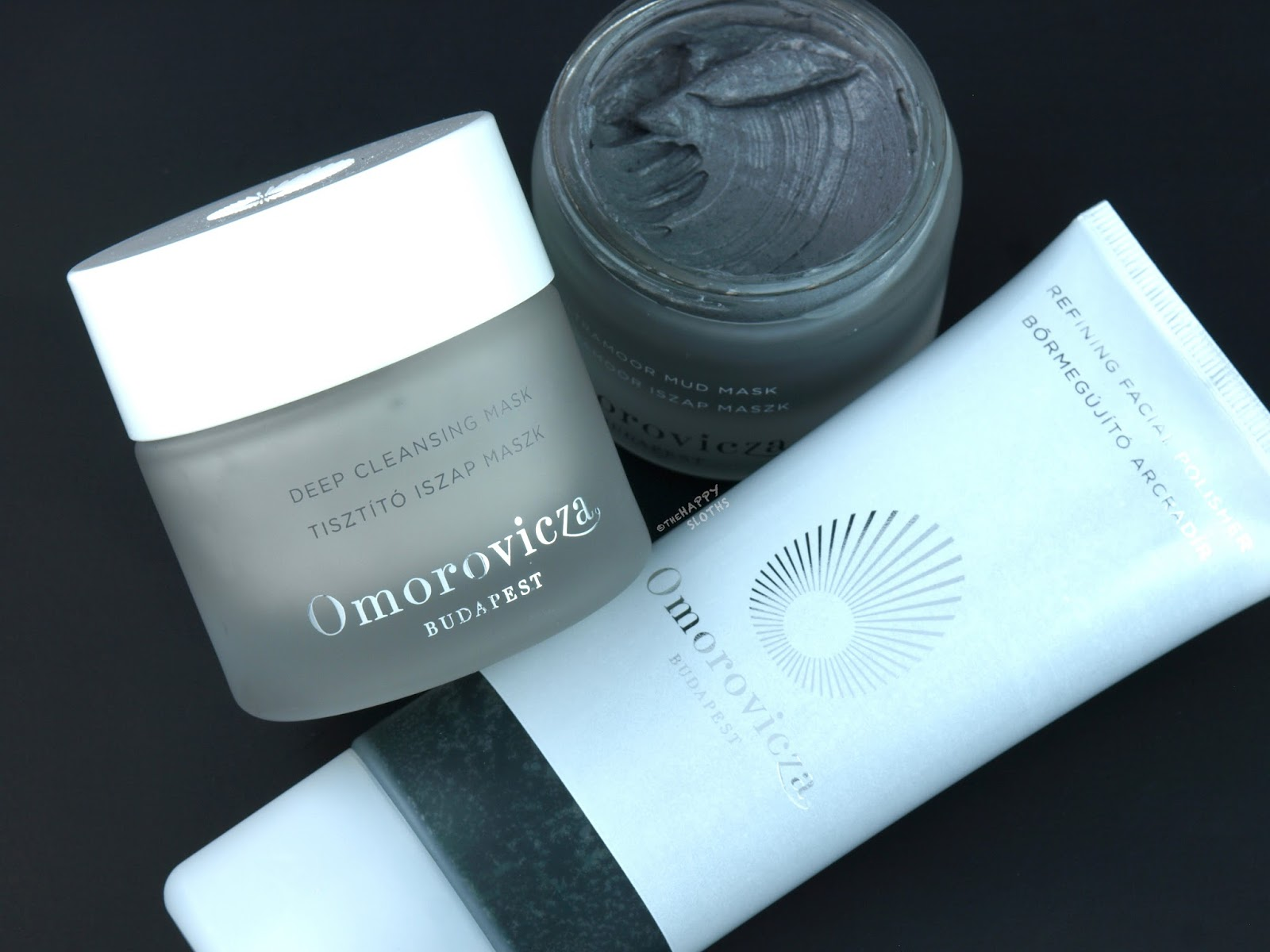 Omorovicza Deep Cleansing Mask, Ultramoor Mud Mask & Refining Facial Polisher: Review