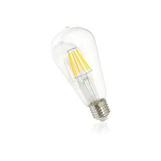 6W E27 LED鎢絲燈泡,LED愛迪生燈泡