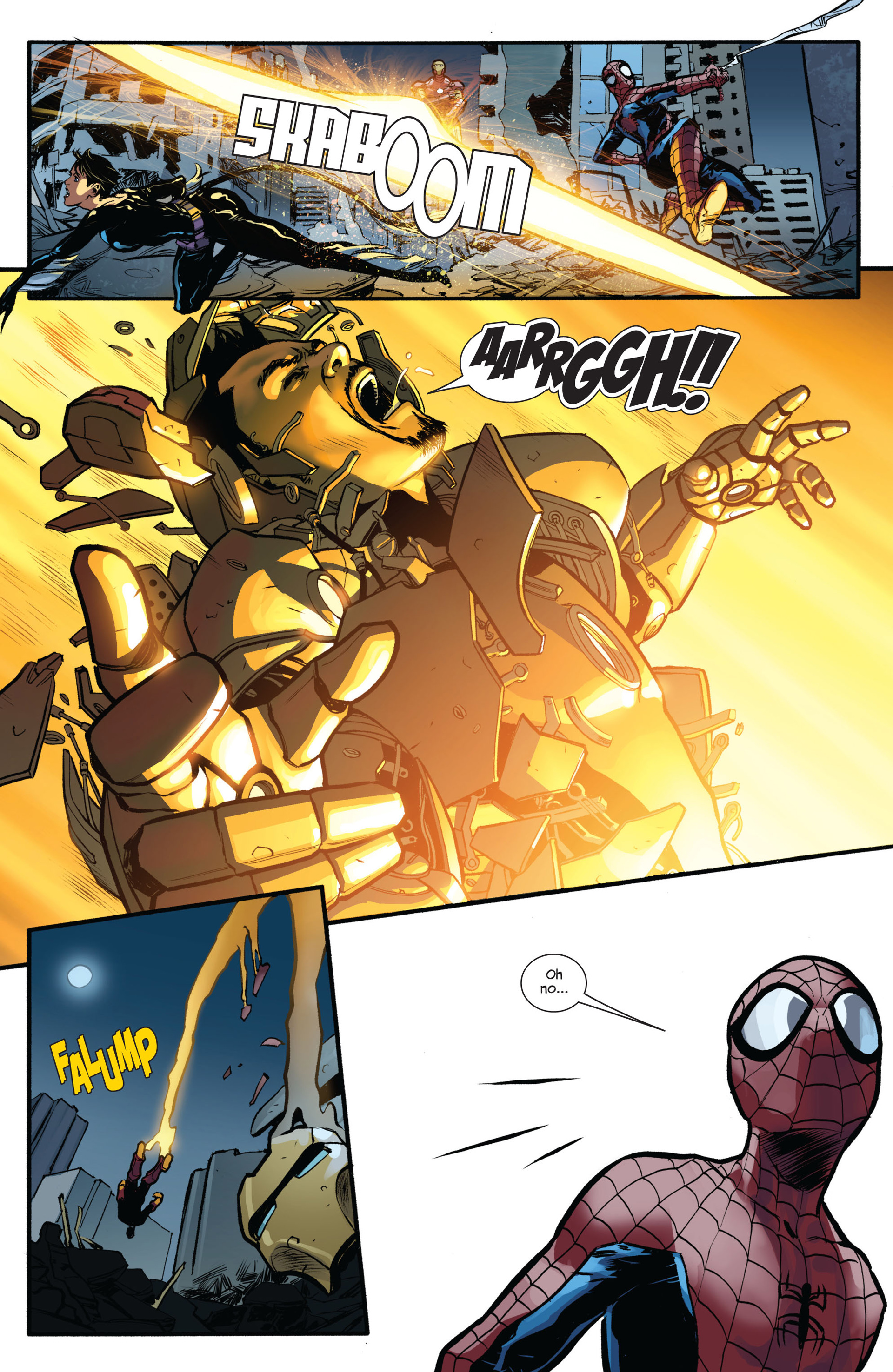 Read online Ultimate Spider-Man (2009) comic -  Issue #154 - 7