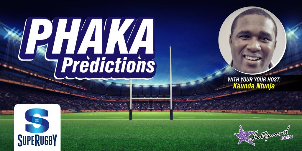 Phaka Predictions - Super Rugby - Kaunda Ntunja