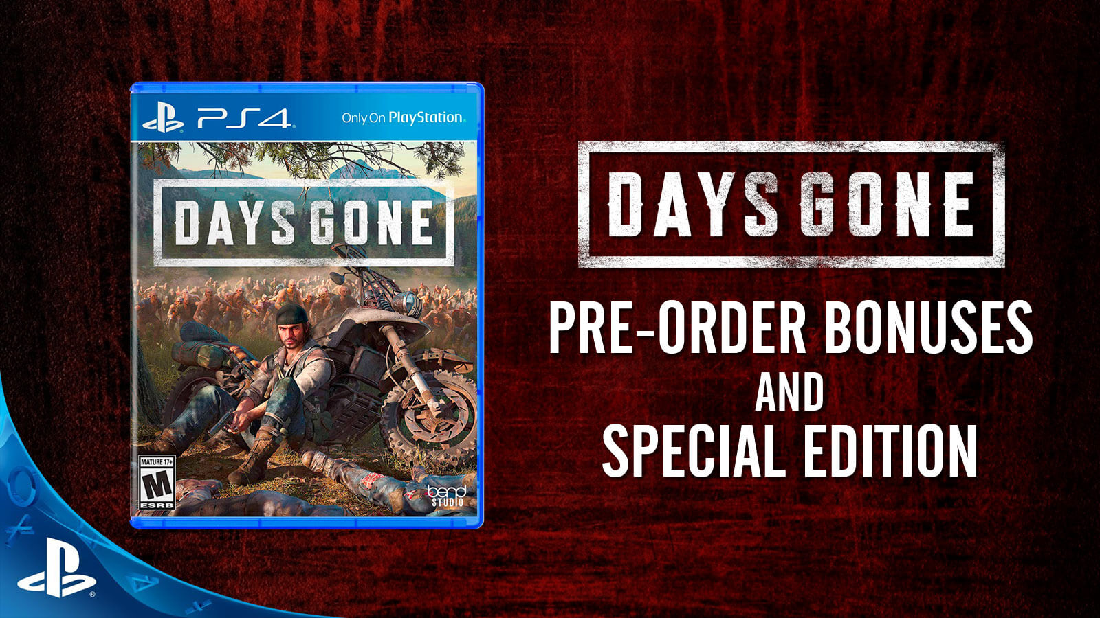 Days Gone Pre-order Bonuses and Special Edition - Gameslaught