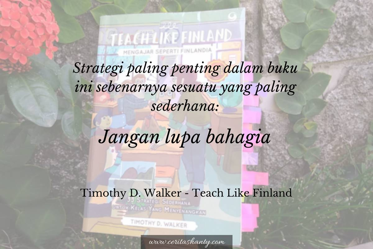 Quotes dari Teach Like Finland