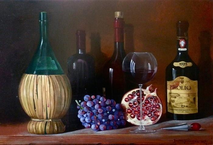Сербский художник-реалист. Dusan Jovanovic 17