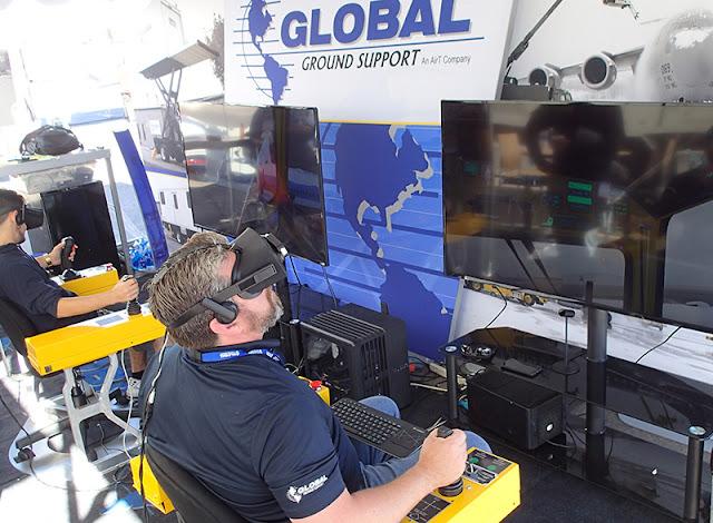 VR Training Simulator for Aircraft Deicing