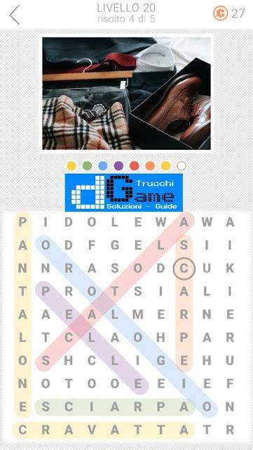 10x10 Crucipuzzle soluzione pacchetto 20 livelli (1-5)