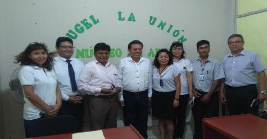 Distrito La Arena ya cuenta con un Núcleo de Gestión Educativa - DRE Piura