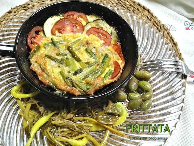 Frittata De Verduras.