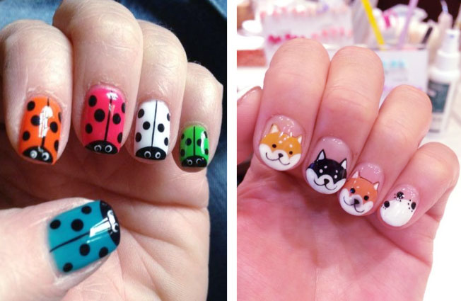 Adorable Details For Animal Nail Art Designs