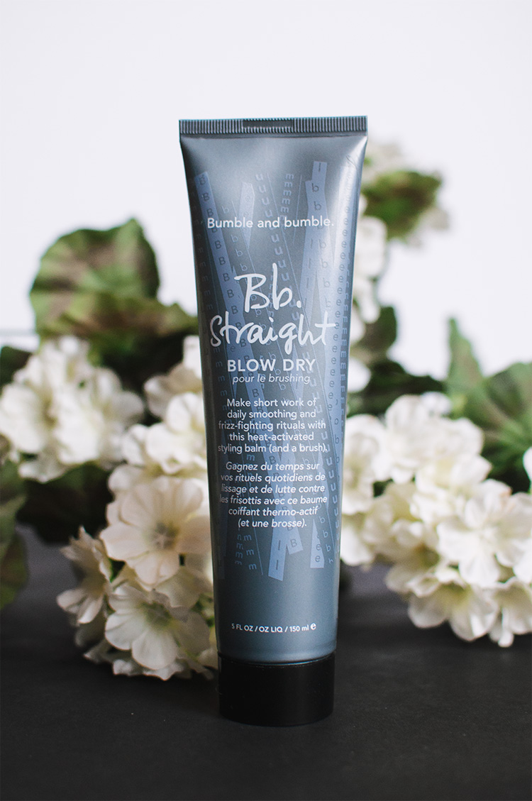 bumble and bumble blow dry straight, bumble bumble, blow dry balm, best heat protectant, bumble bumble review