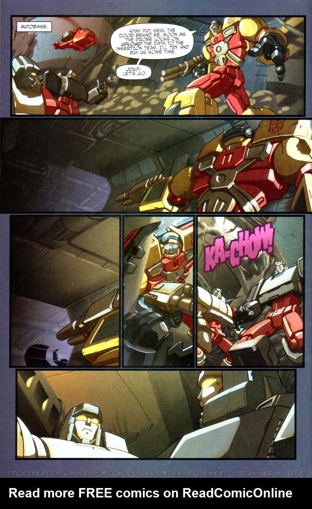 Read online Transformers Armada comic -  Issue #15 - 21