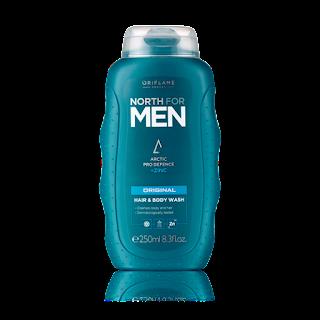 Σαμπουάν & Αφροντούς North for Men Original 250ml