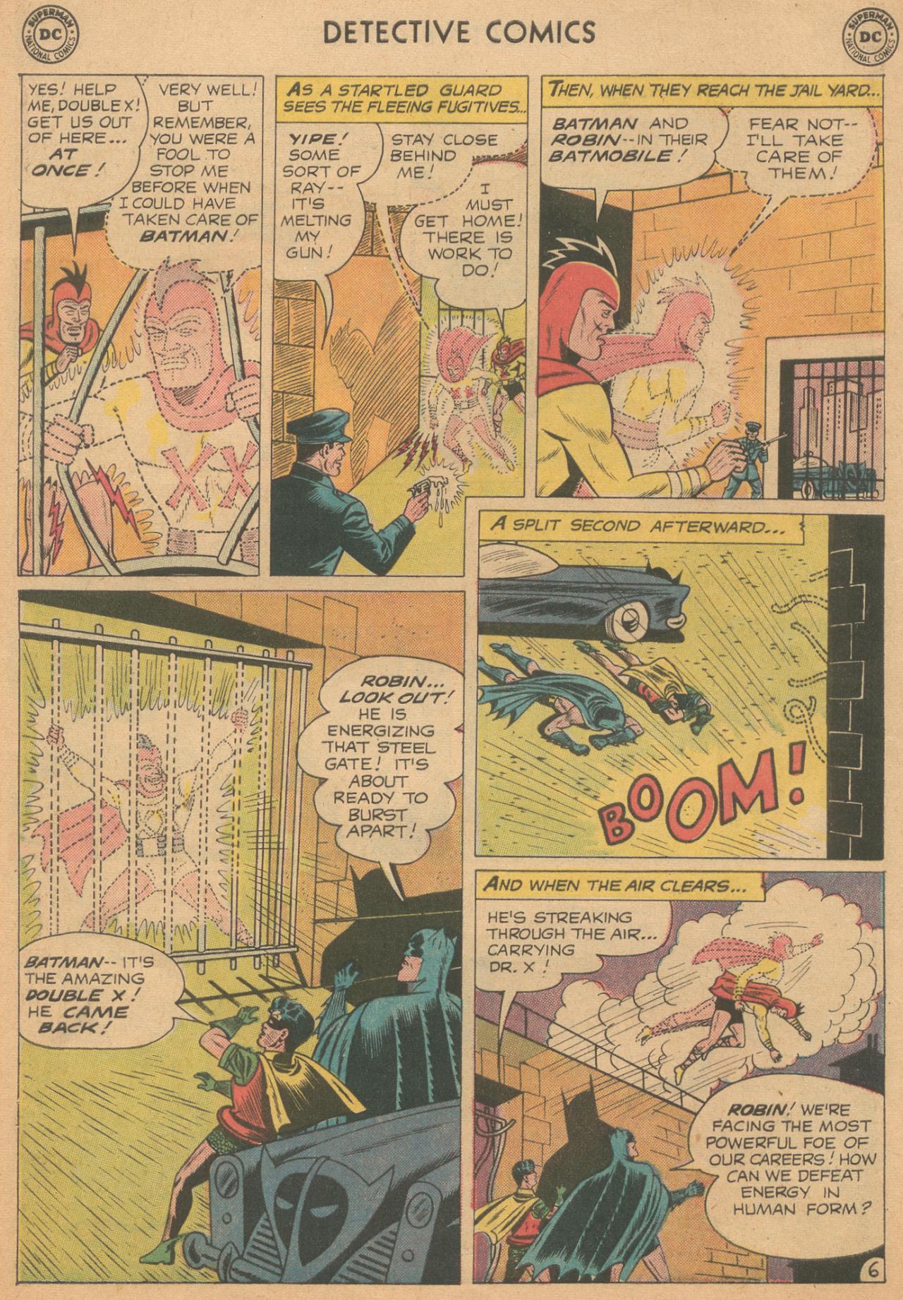Read online Detective Comics (1937) comic -  Issue #261 - 8
