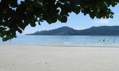 Pantai Natsepa Ambon Wisata Bahari Propinsi Maluku