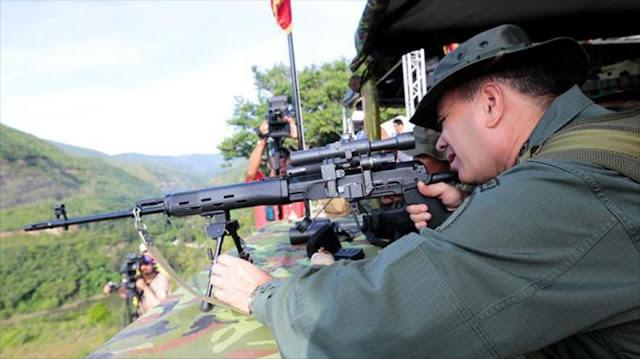 Venezuela reta a Trump con maniobra militar de 900.000 fuerzas