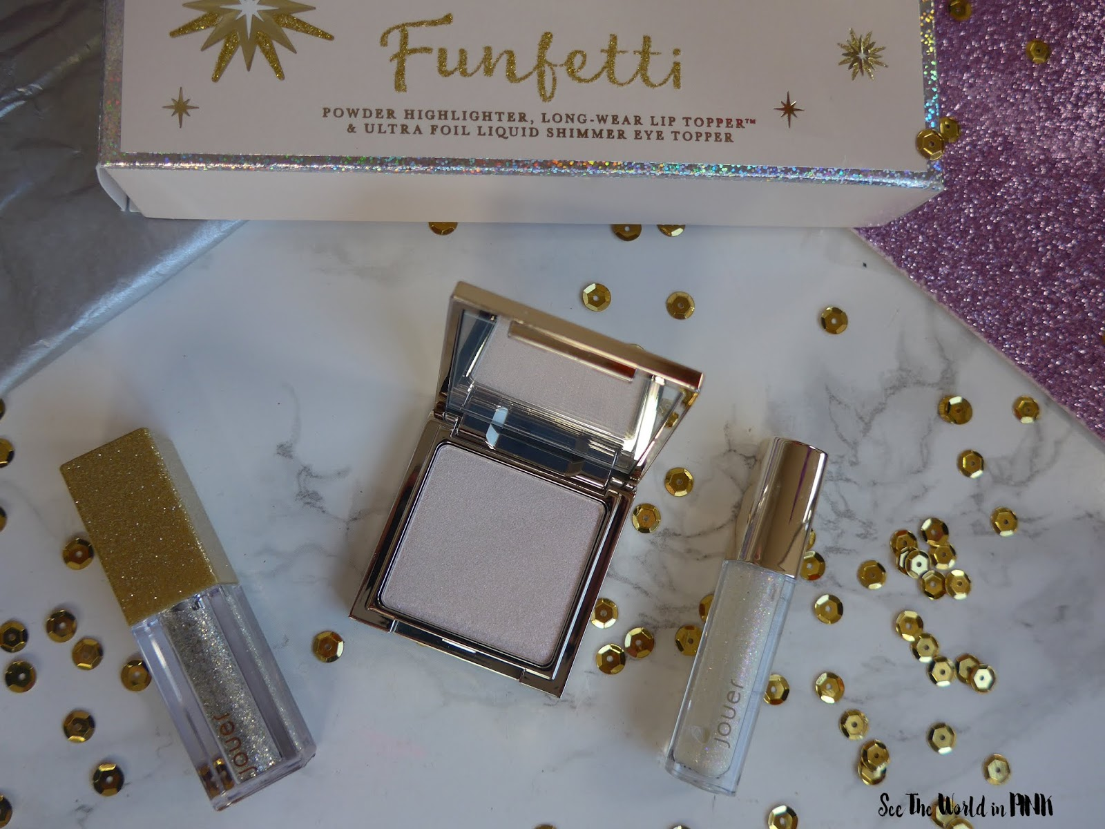 Jouer Cosmetics Funfetti Collection Set