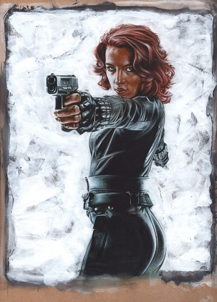 Black Widow Artwork© Jeff Lafferty 2015