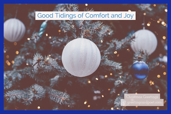 good-tidings-of-comfort-and-joy-quote for sisters
